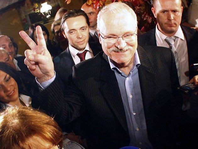 Ivan Gašparovič se podruhé stal slovenským prezidentem