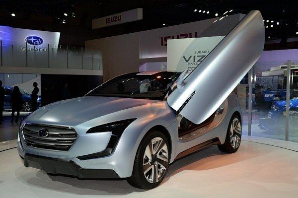 Subaru Viziv Evolution.