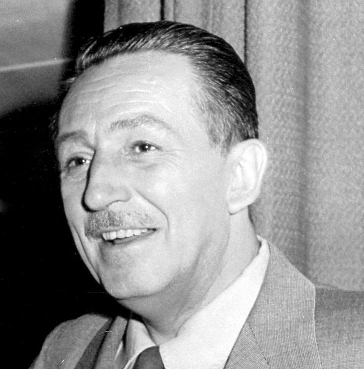 Walt Disney na snímku z roku 1954
