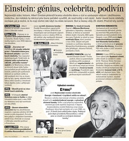 Einstein: génius, celebrita a podivín.