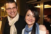 Slovenská herečka i zpěvačka Lucia Gažiová je se svým manželem Petrem Svobodou spoluproducentkou alba Solitéři.
