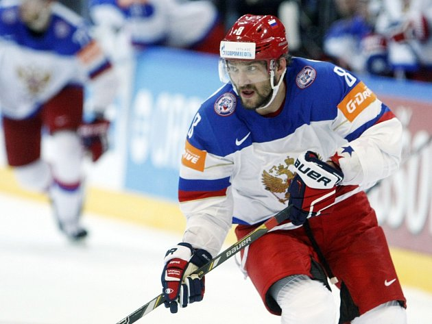 Hvězda Ruska Alexandr Ovečkin.