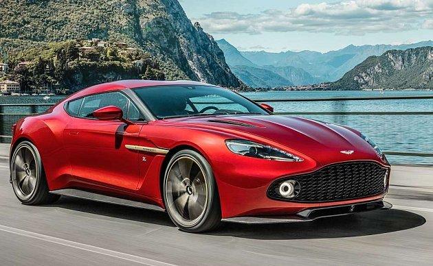 Aston Martin Vanquish Zagato.
