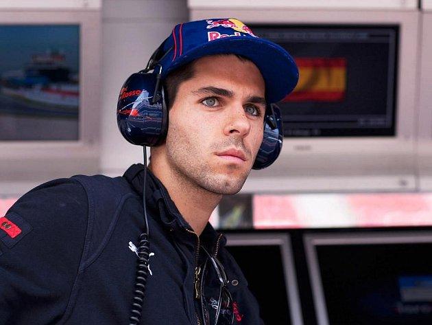 Španěl Javier Alguersuari, nová tvář formule 1.