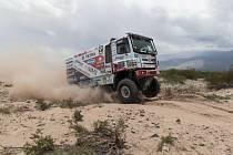 Martin Kolomý na Rallye Dakar 2017.