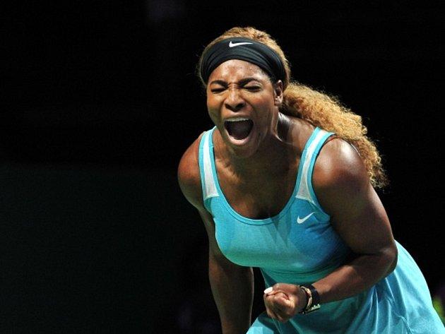 Serena Williamsová na Turnaji mistryň.