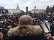 Demonstrace v Kemerovo