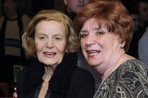 Miriam Kantorková (vpravo) a Nina Jiránková.