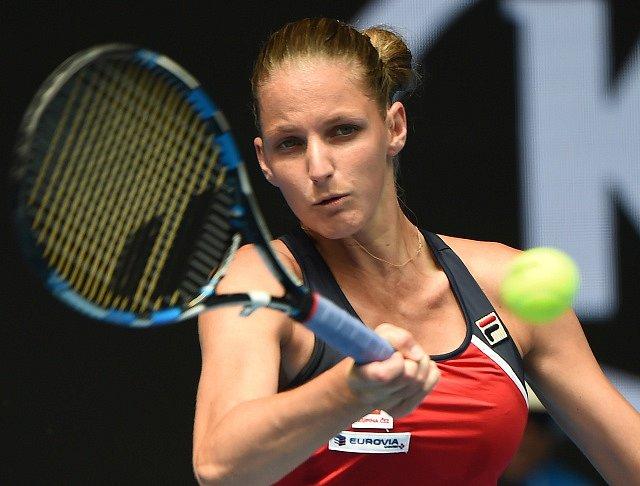 Karolína Plíšková vybojovala postup do 3. kola Australian Open.