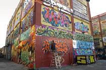Graffiti z projektu 5Pointz