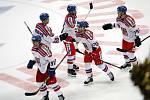 Čeští hokejisté v Moskvě porazili Švédsko 4:1.