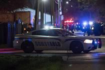Při přestřelce v texaském Houstonu bylo zraněno pět policistů