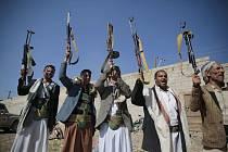 Rebelští Húsíové v přístavu Hudajdá