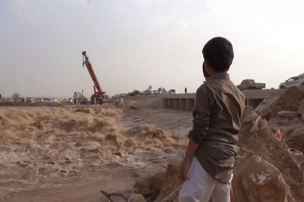 Přívalové deště ohrožují také další historické památky v Jemenu