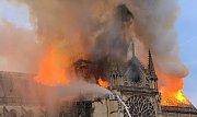 Požár katedrály Notre-Dame v Paříži