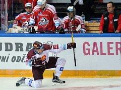 15. kolo extraligy: Sparta - Pardubice 4:1
