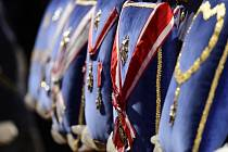 Udílení státních vyznamenání 28. října na Pražském hradě.