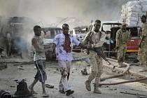 V hlavním městě Somálska Mogadišu vybuchla před hotelem bomba.