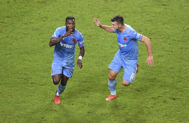 Slavia vypadla v boji o Evropskou ligu s Legií Varšava.