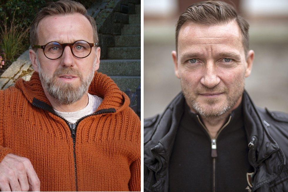 Karel Poborský a Vladimír Šmicer