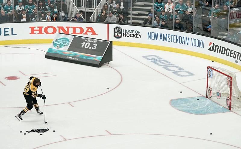 David Pastrňák na Utkání hvězd NHL