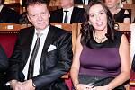 Roman Berbr s manželkou Dagmar Damkovou