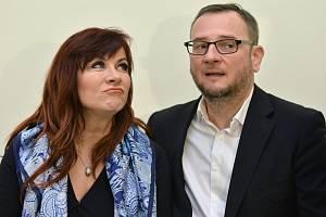 Jana Nečasová (Nagyová) a Petr Nečas