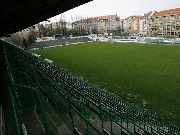 Stadion FC Bohemians 1905 v Praze Vršovicích.