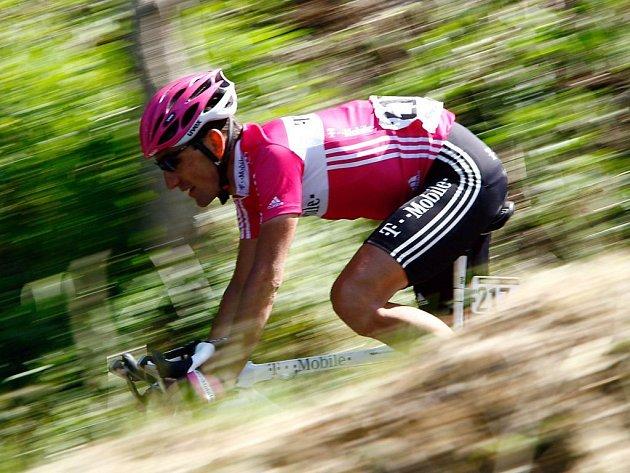 Marco Pinotti z týmu T-Mobile, který je pokračovatelem Telekomu.