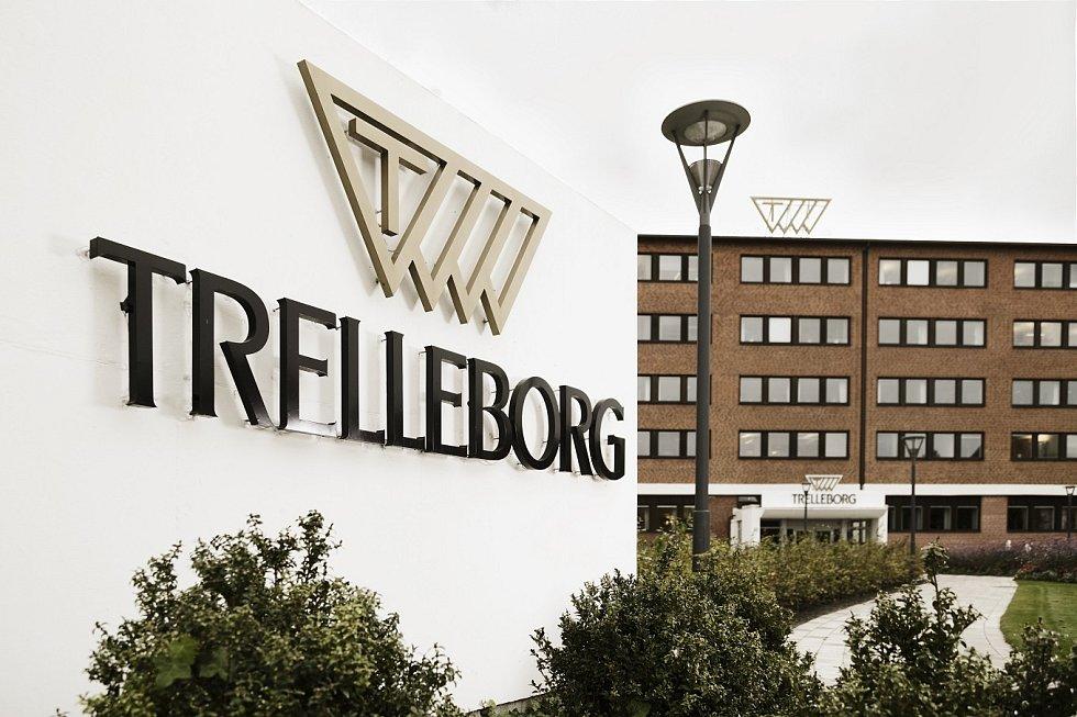 Sídlo firmy Trelleborg