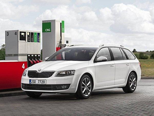 Škoda Octavia G-TEC.