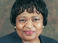 Ministryně zdravotnictví Jihoafrické republiky Manto Čabalala Msimang