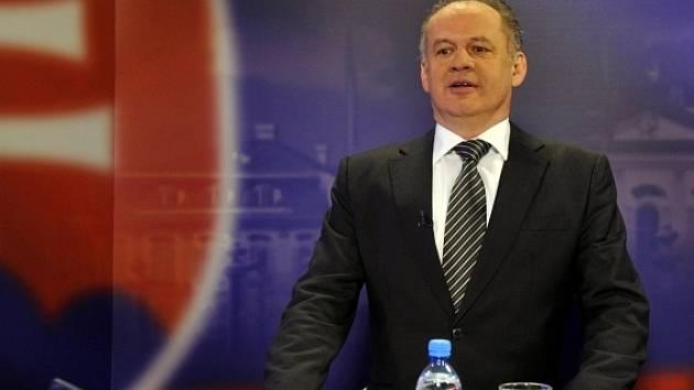 Nový slovenský prezident Andrej Kiska.