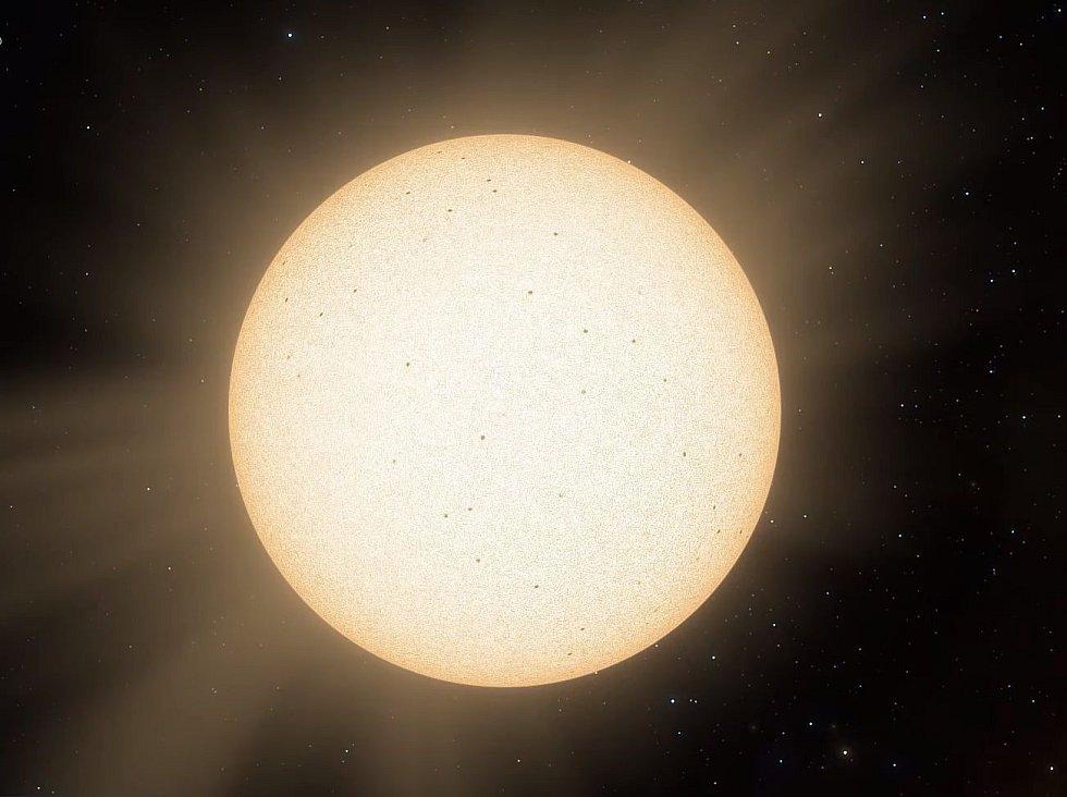 Exoplaneta - Ilustrační foto