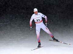Martin Jakš v závodu Světového poháru v Novém Městě na Moravě.