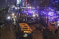 Exploze v centru Ankary si vyžádala desítky mrtvých a zraněných.