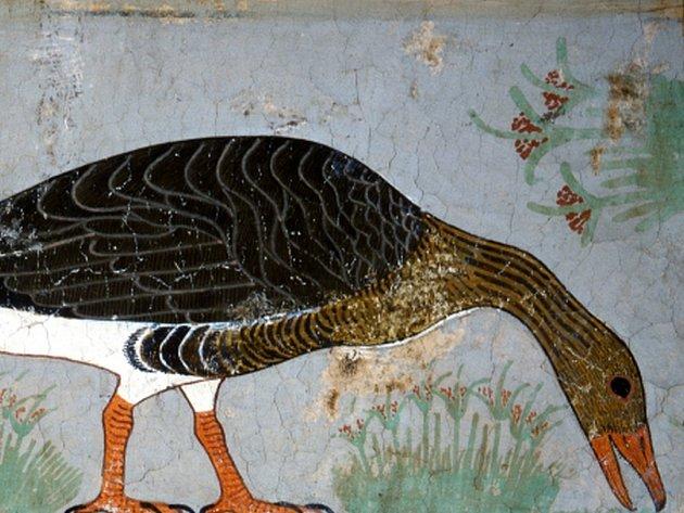 Kresby objevil roku 1871 italský egyptolog Luigi Vassalli, který je ze stěny vyřízl. Dnes jsou vystaveny v Egyptském muzeu v Káhiře.