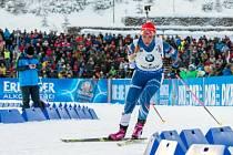 Gabriela Koukalová triumfovala v Oberhofu ve sprintu.