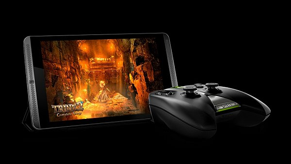 Herní tablet Nvidia Shield Tablet.
