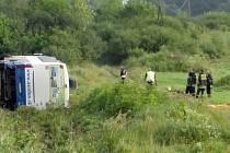Při havárii slovenského autobusu v Srbsku zemřely dvě Češky