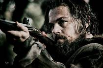 Leonardo DiCaprio ve filmu Alejandra Iňárritua Revenant: Zmrtvýchvstání.