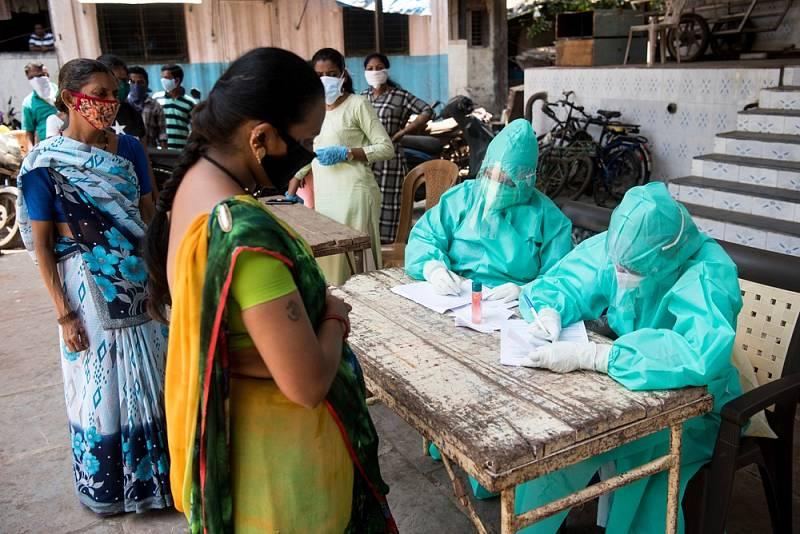 Indická mutace koronaviru (varianta Delta) nabírá na síle.