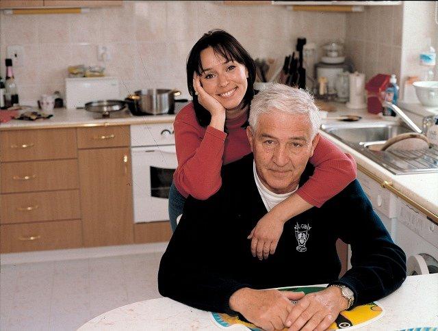 Ivo Pavlík se svou ženou Heidi Janků