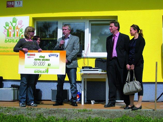 Supermarkety Terno a Květen pro Centrum BAZALKA