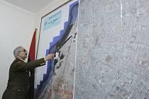 Polní maršál Libyjské národní armády (LNA) Chalífa Haftar