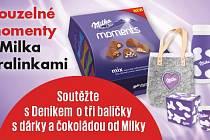 Soutěž Milka Moments