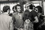 Miloš Forman při natáčení filmu Taking off