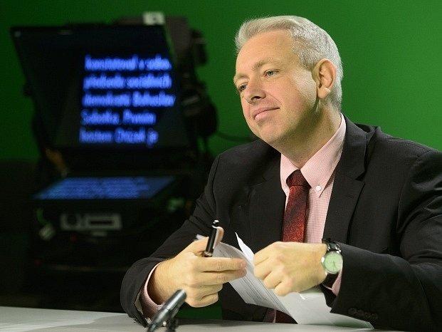 Místopředseda ČSSD Milan Chovanec.