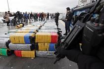 Portugalská policie zabavila kokain za miliardy