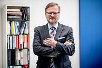 Předseda ODS Petr Fiala poskytl 21. září v Praze rozhovor Deníku.
